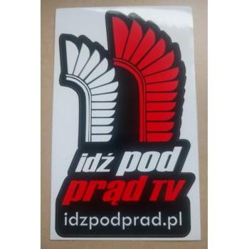 Naklejka IPP TV + adres strony