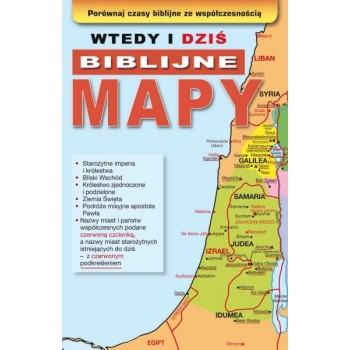 """Broszura """"wtedy i dziś biblijne mapy"""""""