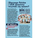 """Ulotka """"Poland Stands With USA"""""""