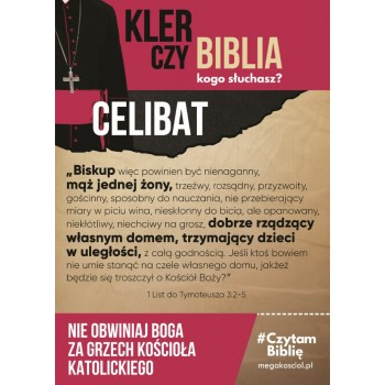 plakat Celibat