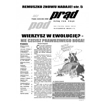 """gazeta """"Idź Pod Prąd"""" 12/2008"""