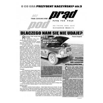 """gazeta """"Idź Pod Prąd"""" 11/2008"""