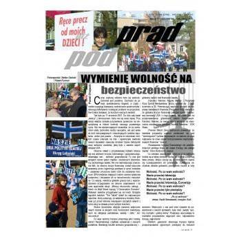 """gazeta """"Idź Pod Prąd"""" 10/2008"""
