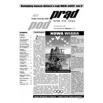 """gazeta """"Idź Pod Prąd"""" 05/2008"""