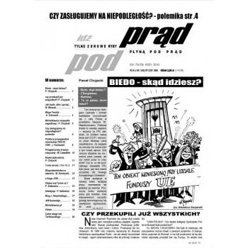 """gazeta """"Idź Pod Prąd"""" 01/2008"""