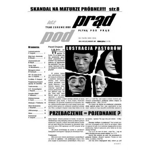 """gazeta """"Idź Pod Prąd"""" 12/2007"""