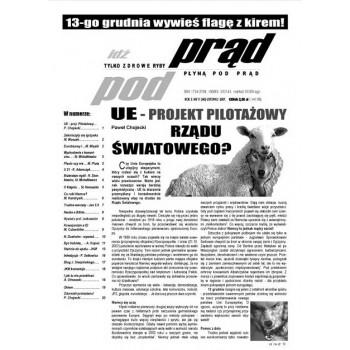 """gazeta """"Idź Pod Prąd"""" 11/2007"""