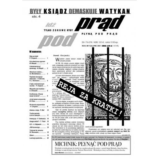 """gazeta """"Idź Pod Prąd"""" 07/2007"""