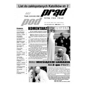 """gazeta """"Idź Pod Prąd"""" 05/2007"""