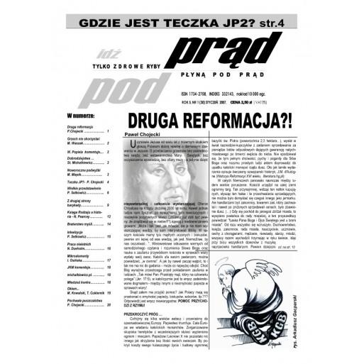 """gazeta """"Idź Pod Prąd"""" 01/2007"""