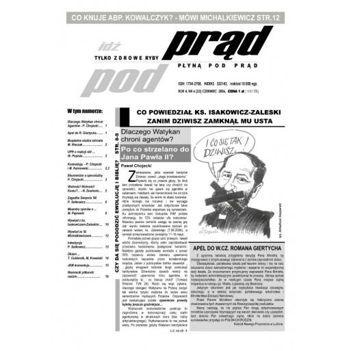 """gazeta """"Idź Pod Prąd"""" 06/2006"""