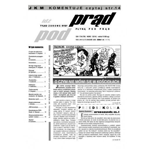 """gazeta """"Idź Pod Prąd"""" 12/2005"""
