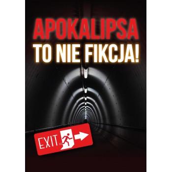 """Ulotka do pobrania """"Apokalipsa to nie fikcja"""""""